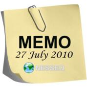 Memo 27.07.2010
