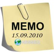 Memo 15.8.2010