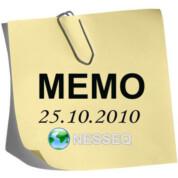 Memo 25.10.2010