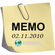 Memo 02.11.2010