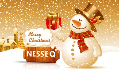 Merry Christmas Greeting from Nesseq.com