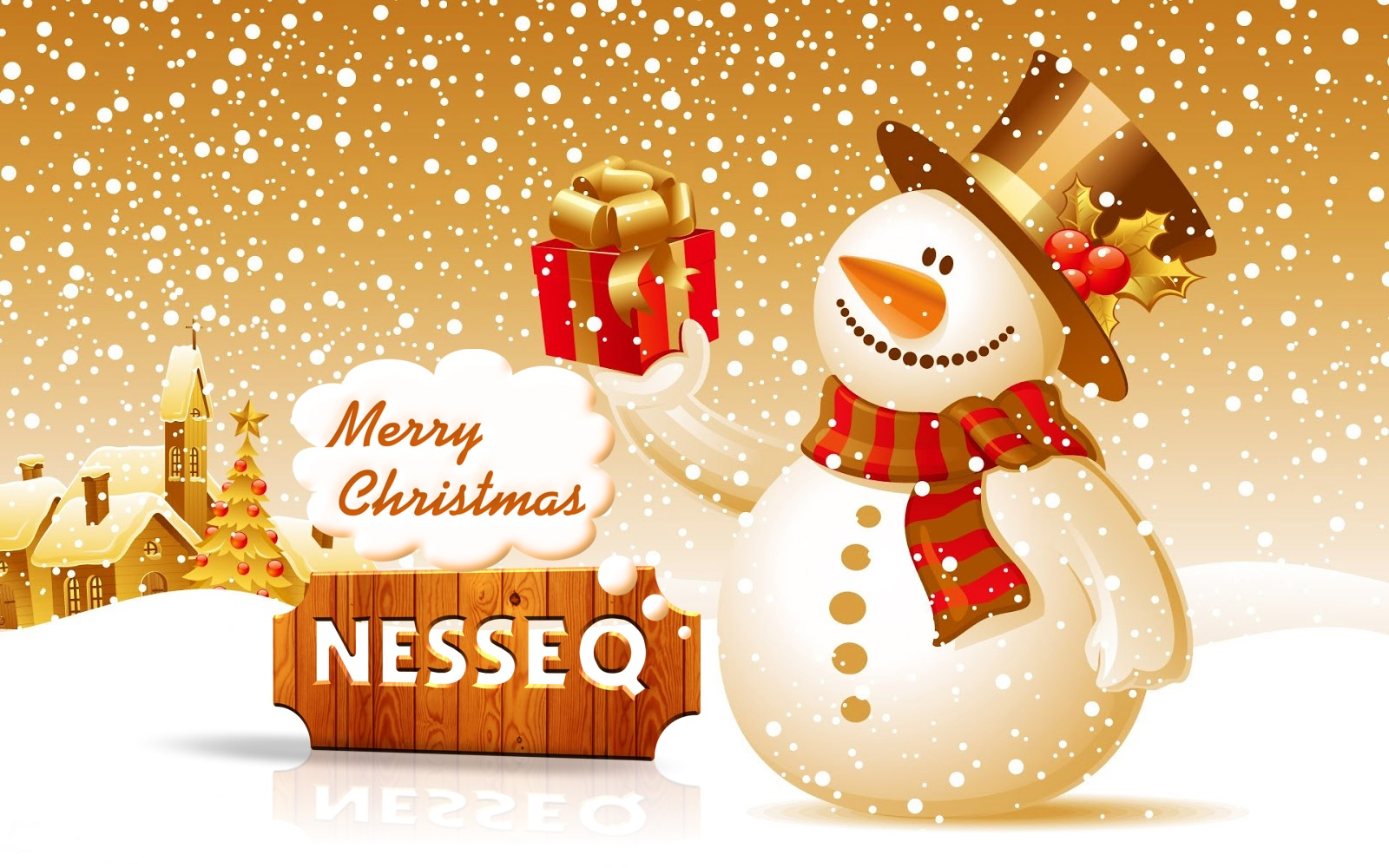 Merry Christmas Greeting From Nesseq Nesseq